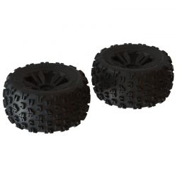dBoots 'Copperhead2 MT' Tire Set Black - Pair