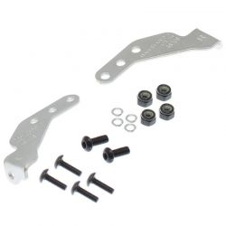 Bumper Connecting Parts (Stainless Steel) Scx10 4.75 Inch
