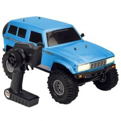 Cross RC Fr4 1/10 Demon 4x4 RTR: No Battery or Charger - Blue [FR4RTRB]