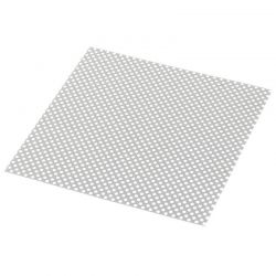 Stainless Steel Modified Air Intake Mesh Silver 10CM*10CM