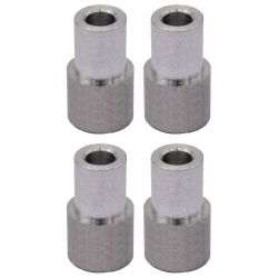 5mm Offset Aluminum Straight Shock Bushings