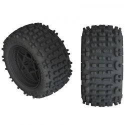 AR550050 Backflip LP 4S Tire 3.8 Glued Black 2