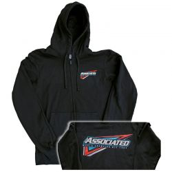 Tri Zip-Up black L
