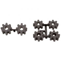 Replacement Spline Drive Adapters (6): Slash 2wd 4x