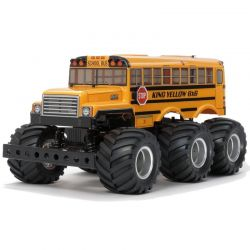 RC King Yellow 6x6 G6-01 Painted Body