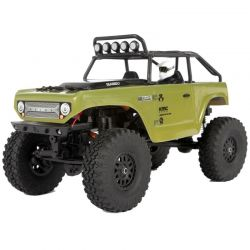 SCX24 Deadbolt 1/24th Scale Elec 4WD - RTR Green