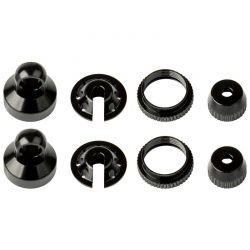 Enduro Shock Parts Black Aluminum