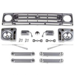 Sendero Body Accessories Satin Chrome