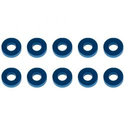 Washers 7.8x3.5x2.0mm blue aluminum