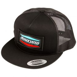 Tri Trucker Hat flat bill