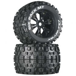 Six Pack MT 3.8 inch Mounted Black (2)