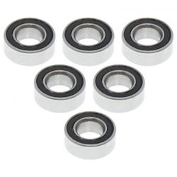 4*8*3mm Rubber Sealed Ball Bearings (6 pieces)