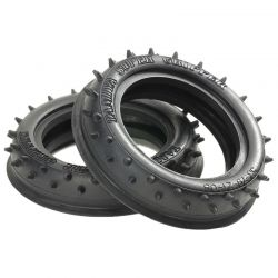 2WD Front Rib-Spike Tires (60/14)