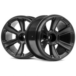 6-Shot Mt Wheel Black 2 pieces Jumpshot Mt