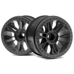 6-Shot Jumpshot St Wheel Black 2 pieces