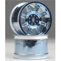 Monster Spider Standard Wheel Blue chrome