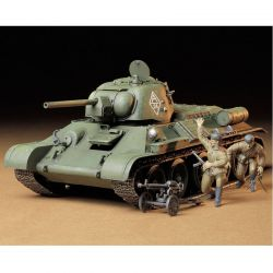 1/35 Russian T34/76 ChTZ Plastic Model Kit