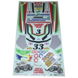 RC Sticker/Masking: 58662 Comical Grasshopper