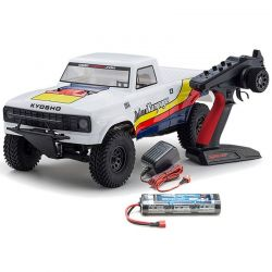 Outlaw Rampage White Ep 2WD Truck Readyset RTR