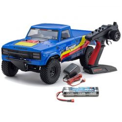 Outlaw Rampage Blue Ep 2WD Truck Readyset RTR