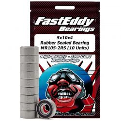 5x10x4 Rubber Sealed Bearing