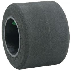 Foam Tire/ wheel pre-mounted & Trued Rear Delphi Green F1 (2)