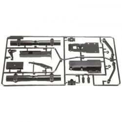 RC B Parts: 1/14 Truck Flatbed Semi-Trailer for R/C Tractor Truc