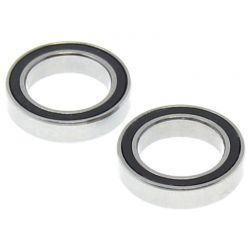 12x18x4mm Rubber Sealed Ball Bearings (2)