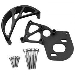 Vs4-10 Motor Mount / Gear Guard Black Anodized