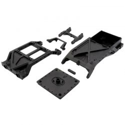 VS4-10 Chassis Cross Braces w/Dig Servo Mount