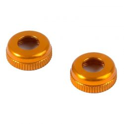 Alu Cap For Shock Body 308322 - Orange