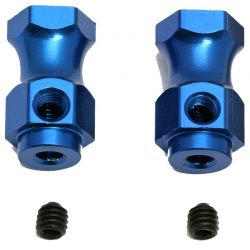 Roll Bar Mounts Blue Mgt (2)