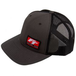 Factory Team Logo Trucker Hat Curved Bill