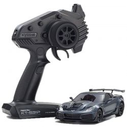 MINI-Z RWD Corvette ZR1 Shadow Gray Metallic w/LED