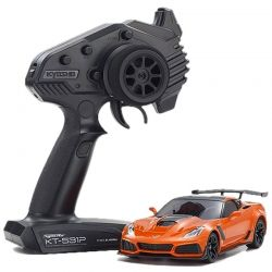 MINI-Z RWD Corvette ZR1 Sebring Orange w/LED