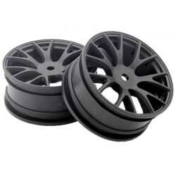 Wheel FZ02 (Mesh 7/Black) (2 pieces)
