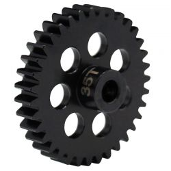 35t Steel Mod 1 Pinion Gear 5mm