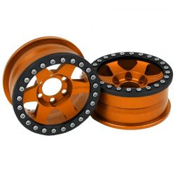 Method 1.9 Race Wheel 310 Orange Anodized