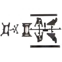 SCX10-II Frame Extension & Brace Set: 6x6