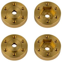 FT Enduro Beadlock Hex Adapters Brass