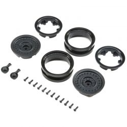 1.9 MW19 Beadlock Wheels - Black 2 pieces