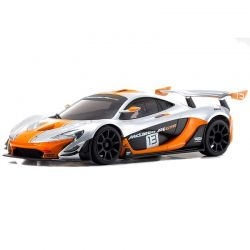 MINI-Z RWD McLaren P1 GTR Silver/Orange MR-03 RS