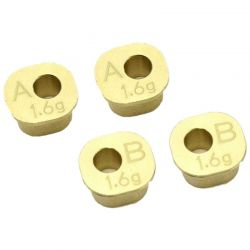 Brass Rear Hub Carrier Bush Set(MP10)