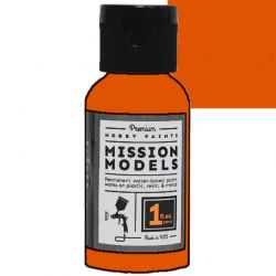Acrylic Model Paint 1 Oz Bottle Orange