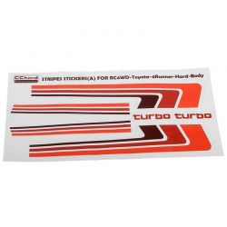 Retro Body Stripes for 1985 Toyota 4Runner Hard Body
