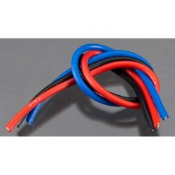 10 Gauge Wire 1 Brushed Kit Black/Red/Blue