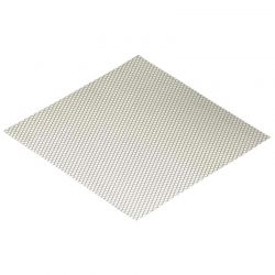 Stainless Steel Modified Air Intake Mesh Silver Diamond Shape