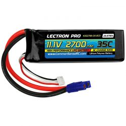 11.1v 2700mah 35c LiPo Battery with EC3 Connector