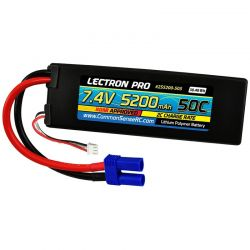 7.4v 5200mah 50c LiPo Battery with Ec5 Connector