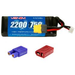 75C 3S 2200mAh LiPo Battery with XT60 Plug